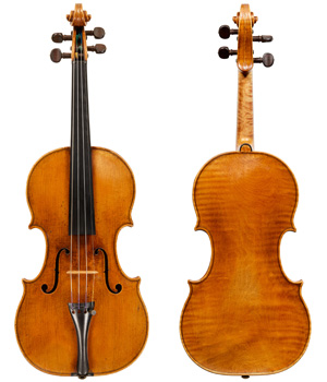 A particularly fine example of the largest, Grand Pattern Nicolo Amati Violin from 1682