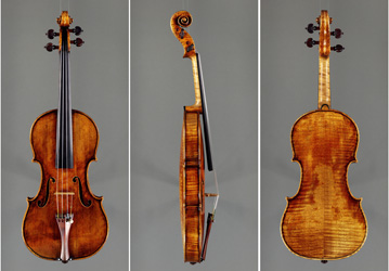 violin by Guarneri del Gesù 'Vieuxtemps' c.1741
